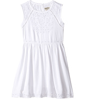 Lucky Brand Kids - Sleeveless Twill Eyelet Dress (Big Kids)