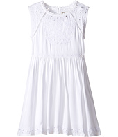 Lucky Brand Kids - Sleeveless Twill Eyelet Dress (Little Kids)
