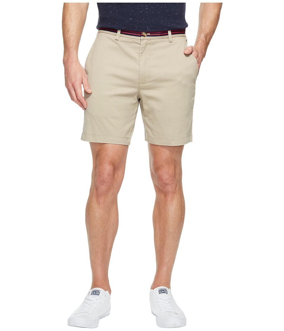 Vineyard Vines 7 Grosgrain Breaker Shorts (Khaki) Men