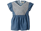 Lucky Brand Kids - Flowy Mixer Top in Chambray (Little Kids)