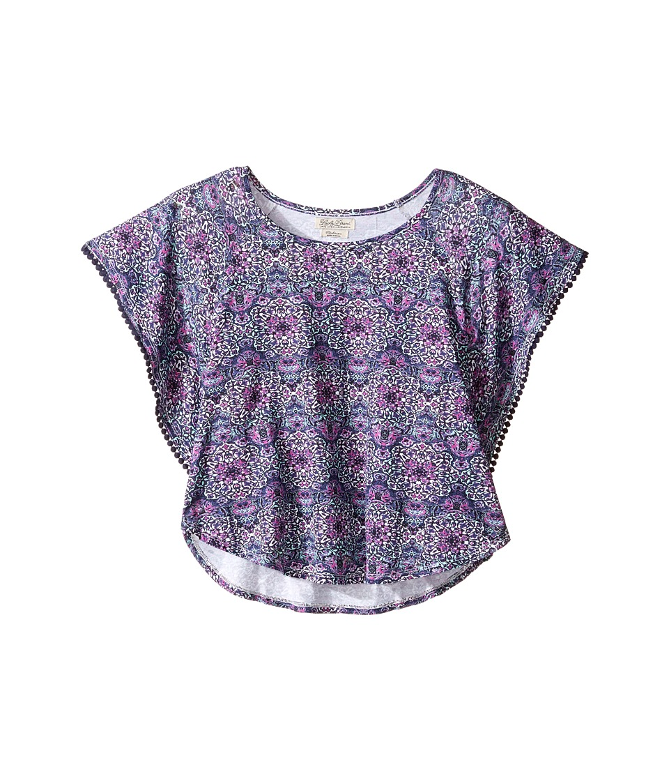 Lucky Brand Kids - Printed Peasant Top