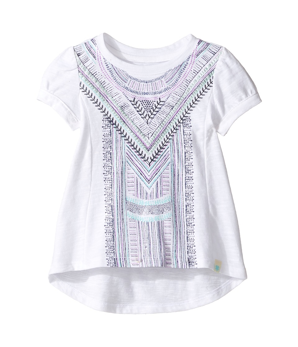 Lucky Brand Kids - Short Sleeve Embroidered Voyage Top