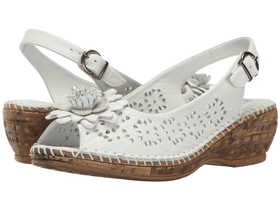 Spring Step Belford (White) Women's Shoes