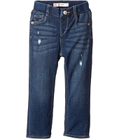 Levi's® Kids - Rib Waistband Skinny Jeans w/ Destruction (Infant)