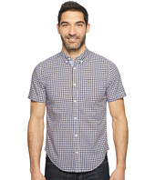 Lacoste - Short Sleeve Bold Poplin Check Slim Fit
