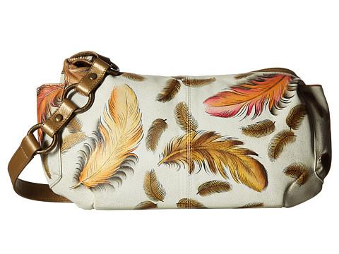 Anuschka Handbags 506 East West With Side Pockets