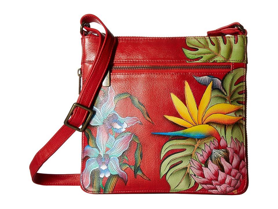 Anuschka Handbags - 550 Expandable Travel Crossbody