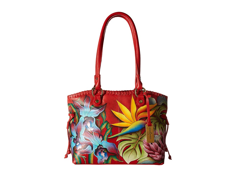 Anuschka Handbags - 569 Large Drawstring Shopper (Island ...