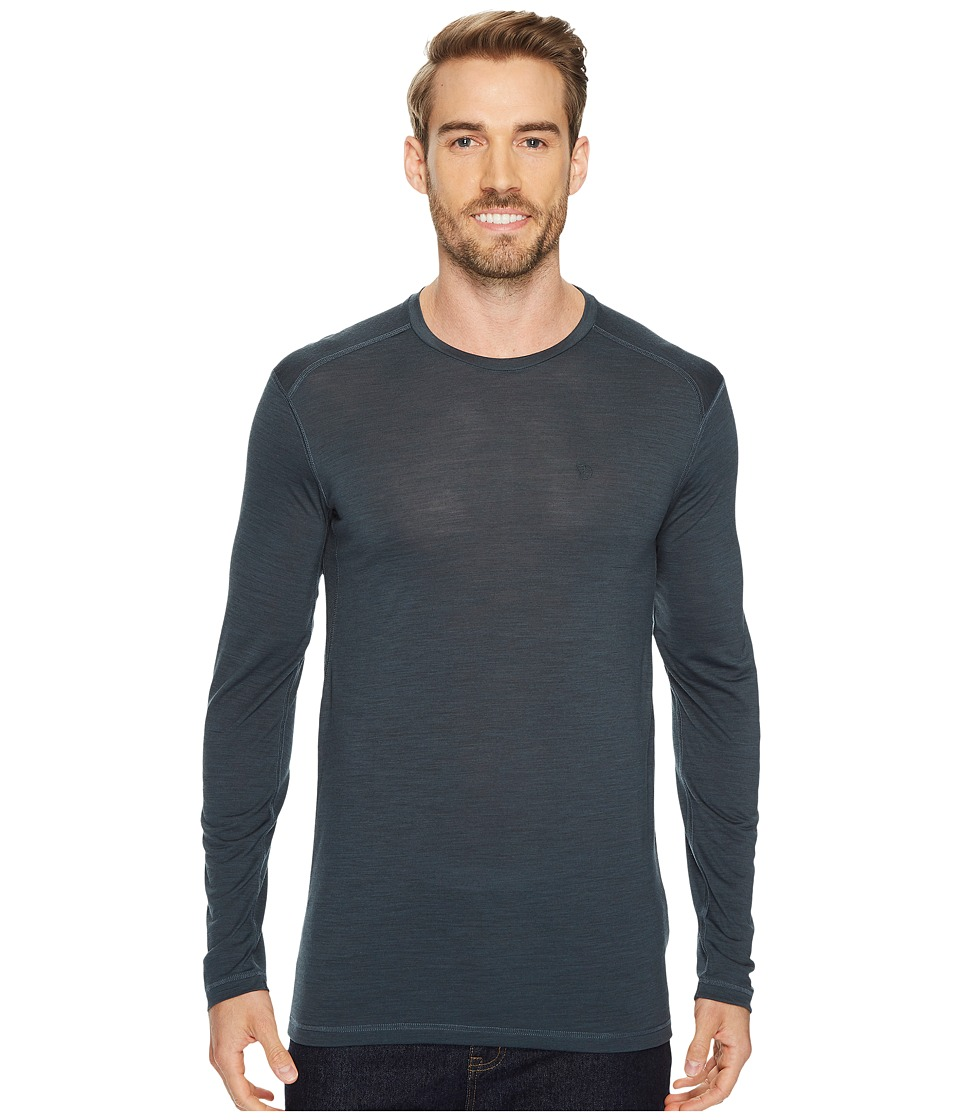 Fjallraven - High Coast First Layer Long Sleeve (Ash Grey) Mens Long Sleeve Pullover