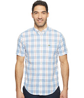 Lacoste - Short Sleeve Bold Plaid Poplin