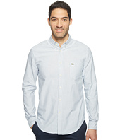 Lacoste - Long Sleeve Regular Fit Bold Oxford Bengal Stripe Woven Shirt