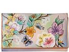 Anuschka Handbags 1043 Multi-Pocket Wallet/Clutch