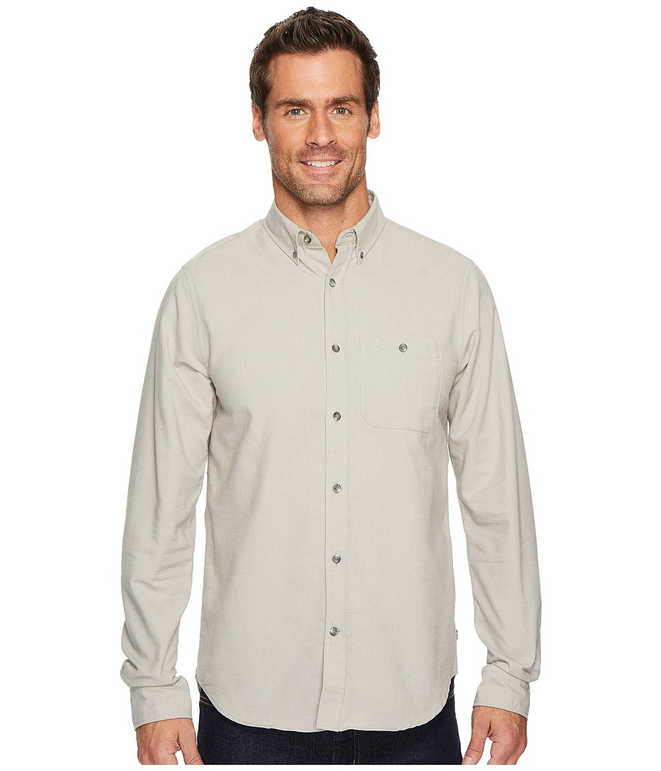 Fjallraven - Ovik Foxford Shirt (Fog) Mens Clothing