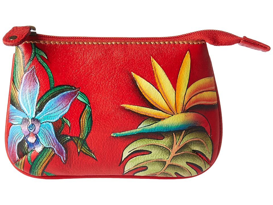 Anuschka Handbags - 1107 Medium Coin Purse (Island Escape) Coin Purse