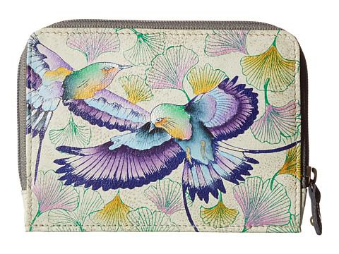 Anuschka Handbags 1124 Zip Around Credit Card Case - Wings of Hope