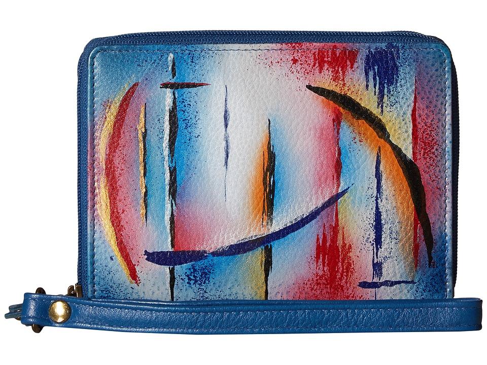 Anuschka Handbags - 1143 RFID Blocking Zip-Around Clutch Wallet