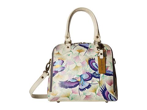 Anuschka Handbags 606 Zip Around Convertible Satchel - Wings of Hope