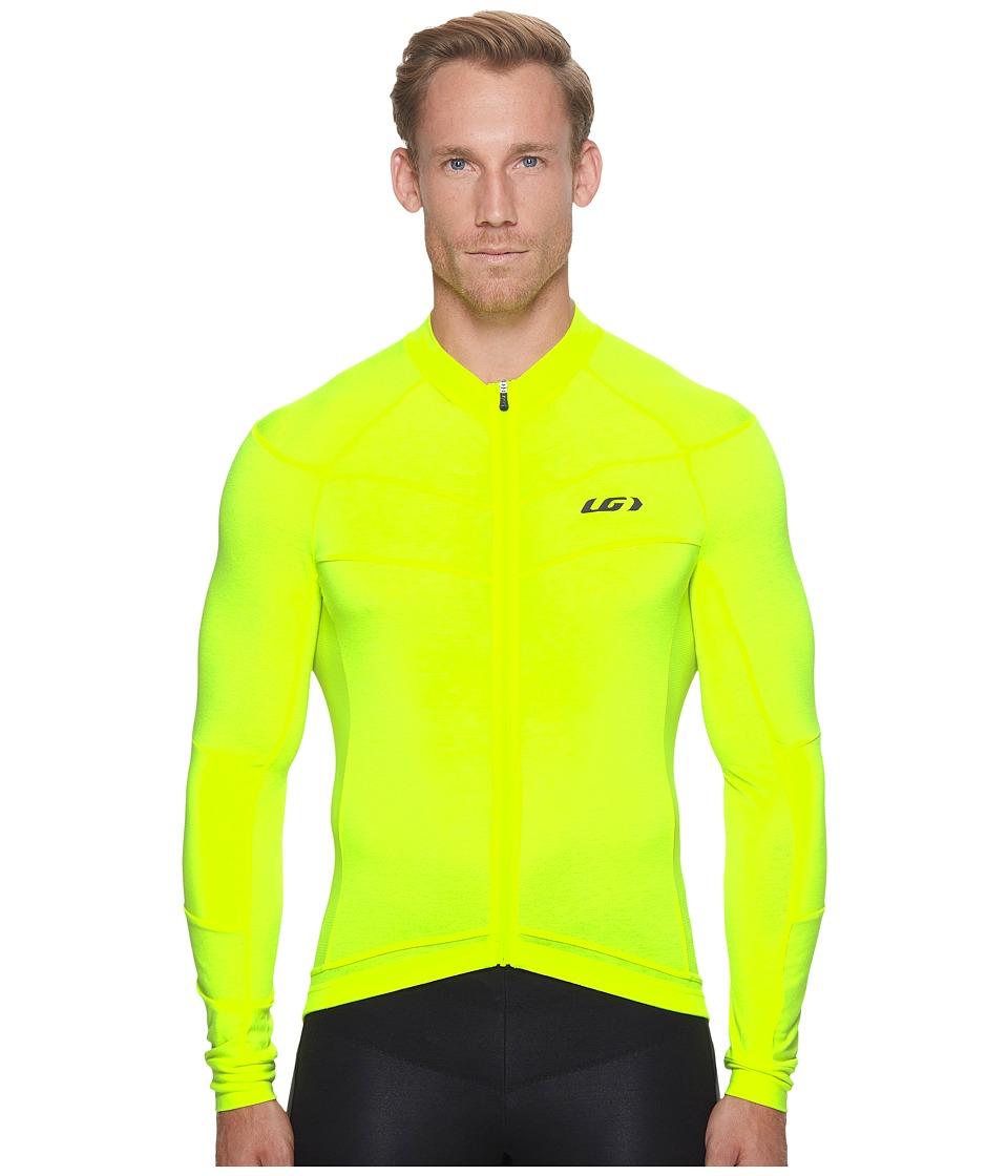 Louis Garneau - Lemmon Long Sleeve Jersey (Bright Yellow) Mens Clothing