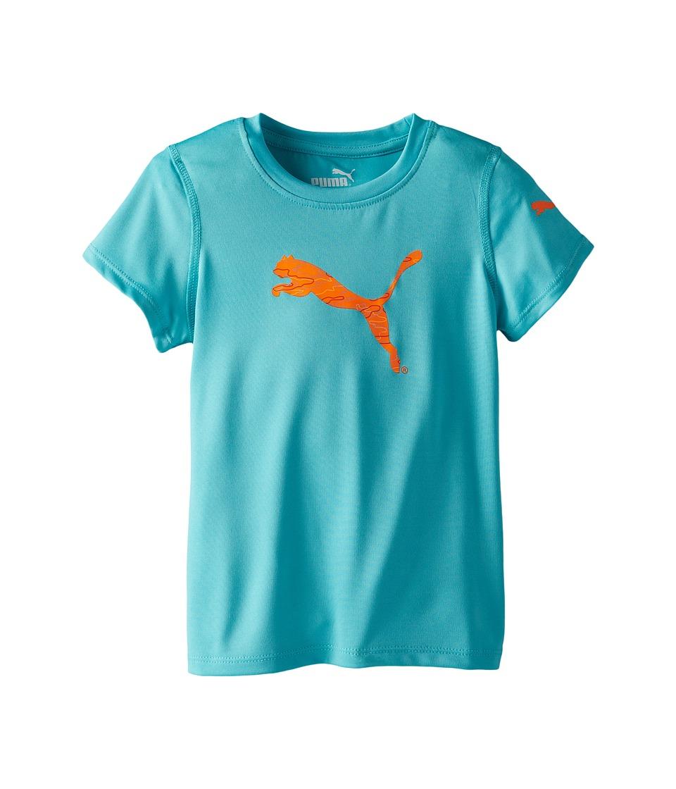 Puma Kids Tech Tee (Little Kids) (Faster Blue) Girl