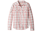 Levi's® Kids - The Western Long Sleeve Plaid Top (Little Kids)