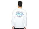 Long Sleeve Bonefish Diamond Pocket T-Shirt