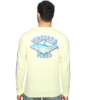 Vineyard Vines - Long Sleeve Bonefish Diamond Pocket T-Shirt