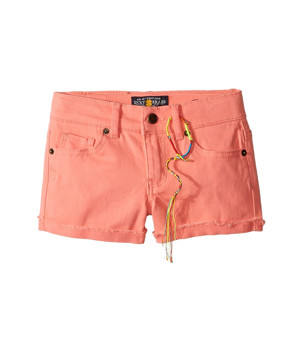 Lucky Brand Kids - Riley Stretch Twill Shorts