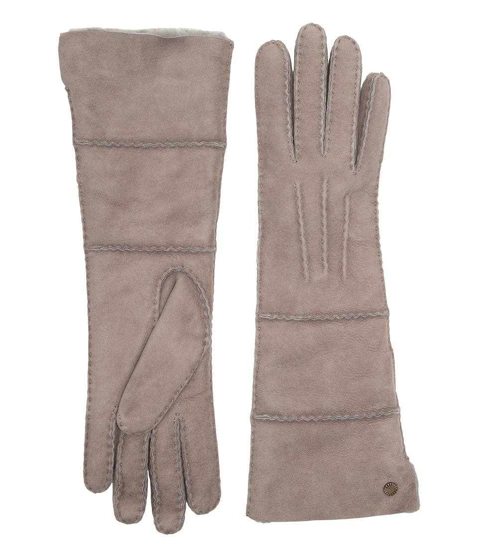 Ugg Long Pieced Sheepskin Gloves with Slim Pile (Stormy G...