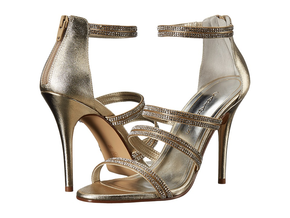 Caparros Immense (Platino Metallic) High Heels