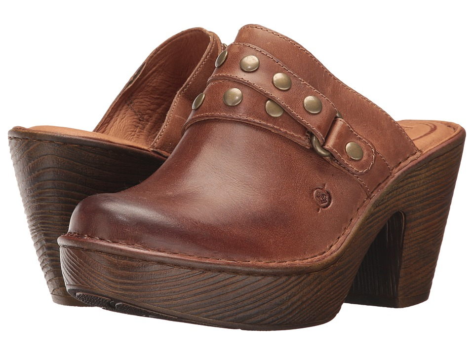Born Marney (Natural Full Grain Leather) Women