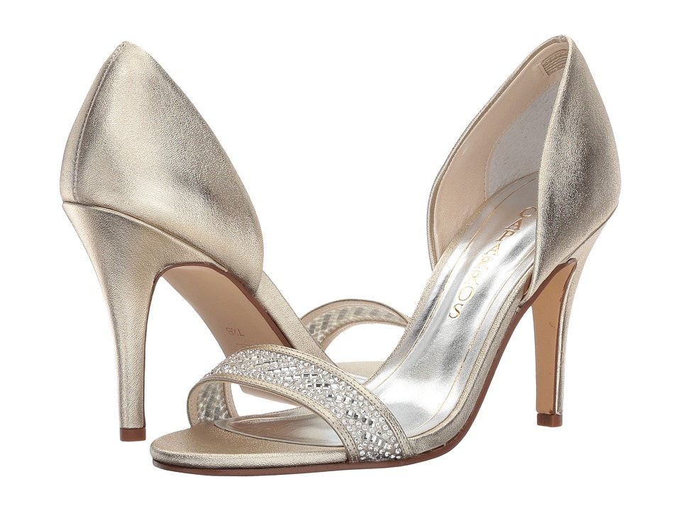 Caparros Illusion (Platino Metallic) High Heels