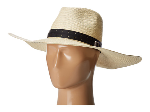 rag & bone Wide Brim Panama Hat - Natural