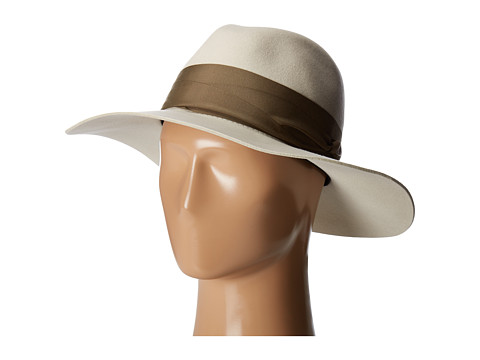 rag & bone Wide Brim Fedora - Cream