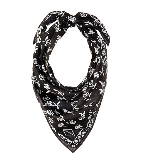 rag & bone Floral Bandana - Black