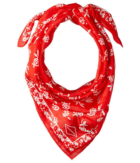 rag & bone Floral Bandana - Red