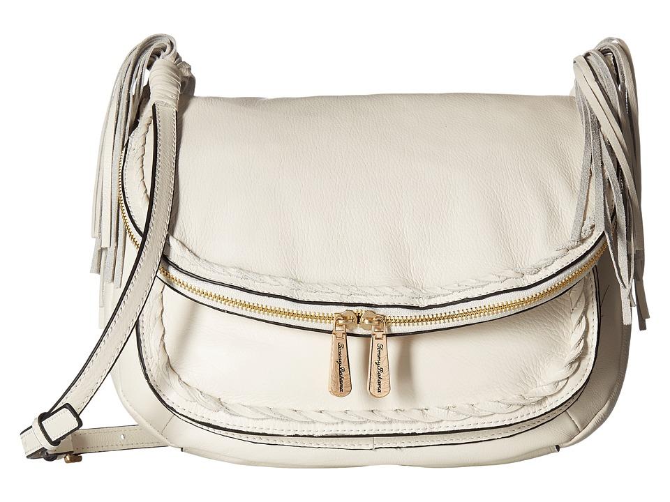 Tommy Bahama Abaco Messenger (White Sand) Messenger Bags