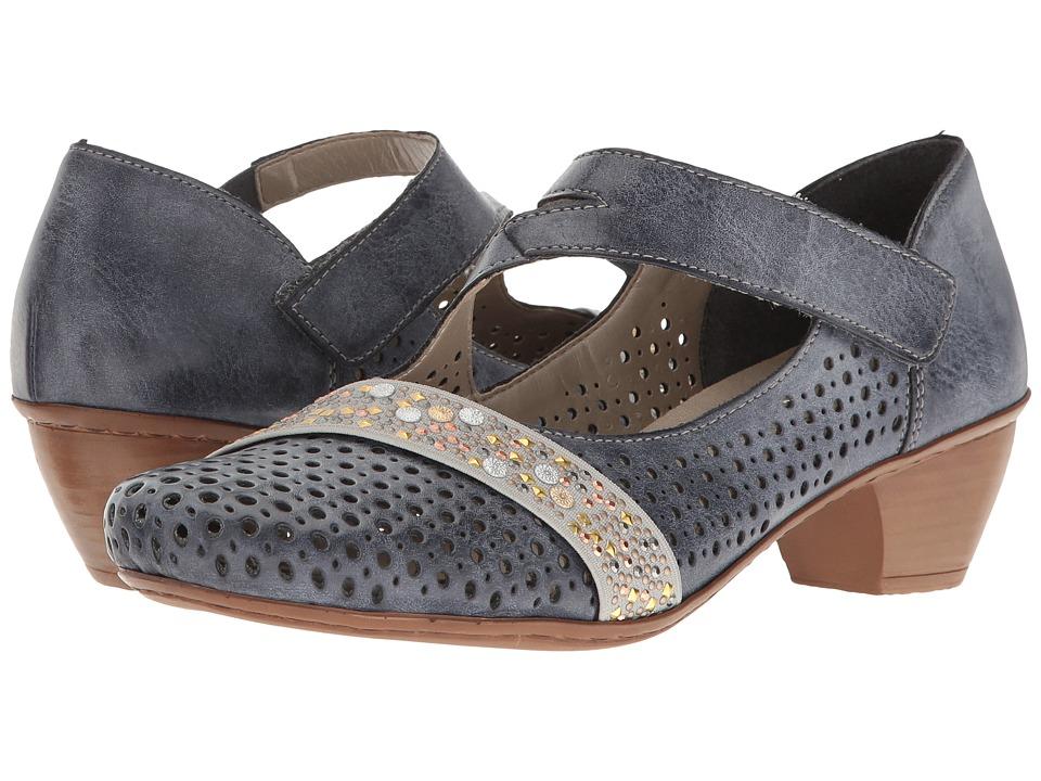 Rieker 47645 Mariah 45 (Jeans/Grau) Women