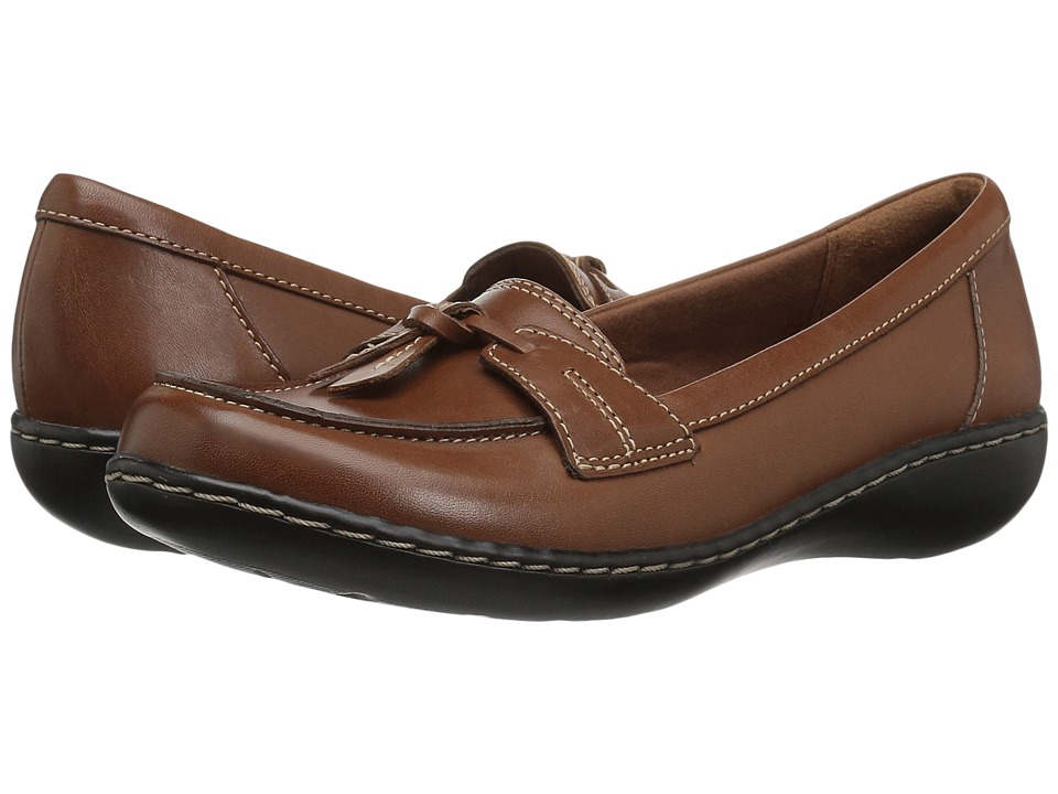 Clarks Ashland Bubble (Tan Leather) Slip-On Shoes
