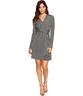 Laundry by Shelli Segal - Printed Wrap Front Shirtdress