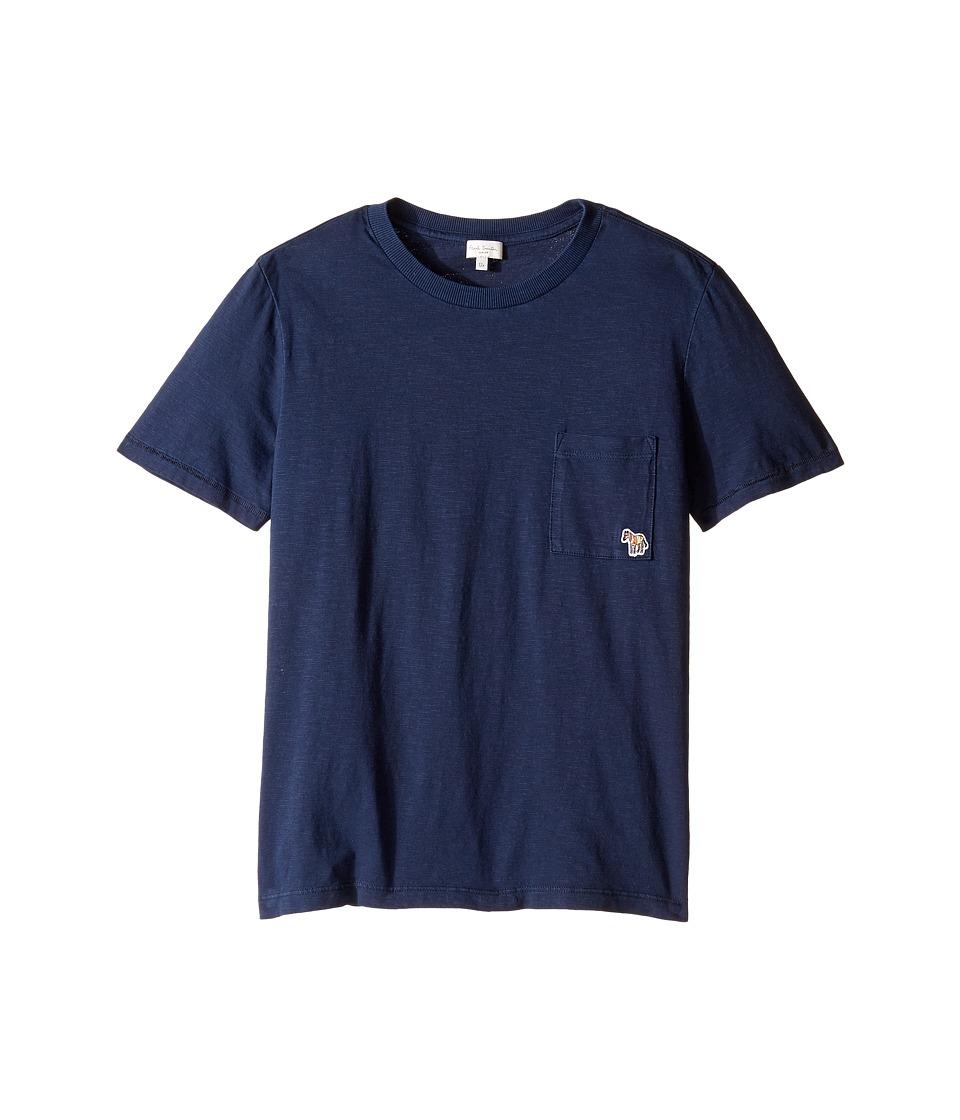 Paul Smith Junior - Short Sleeve Plain Tee with Pocket