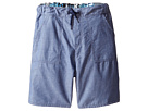 Paul Smith Junior - Bike/Chambray Reversible Shorts (Big Kids)