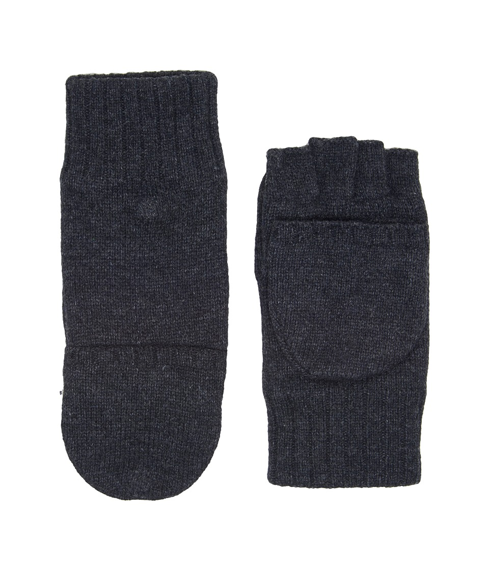 UGG Classic Knit Flip Mittens (Graphite Heather) Extreme Cold Weather Gloves