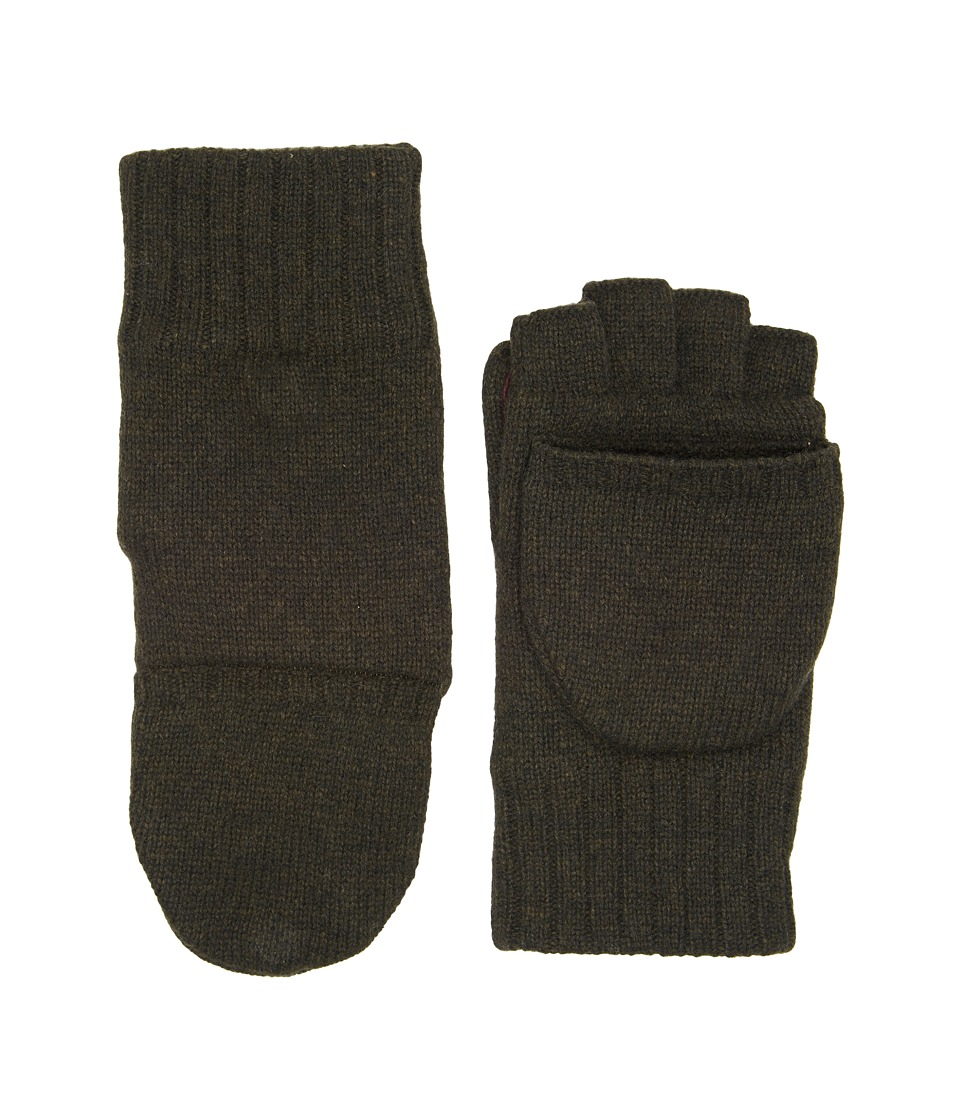 UGG Classic Knit Flip Mittens (Spruce) Extreme Cold Weather Gloves