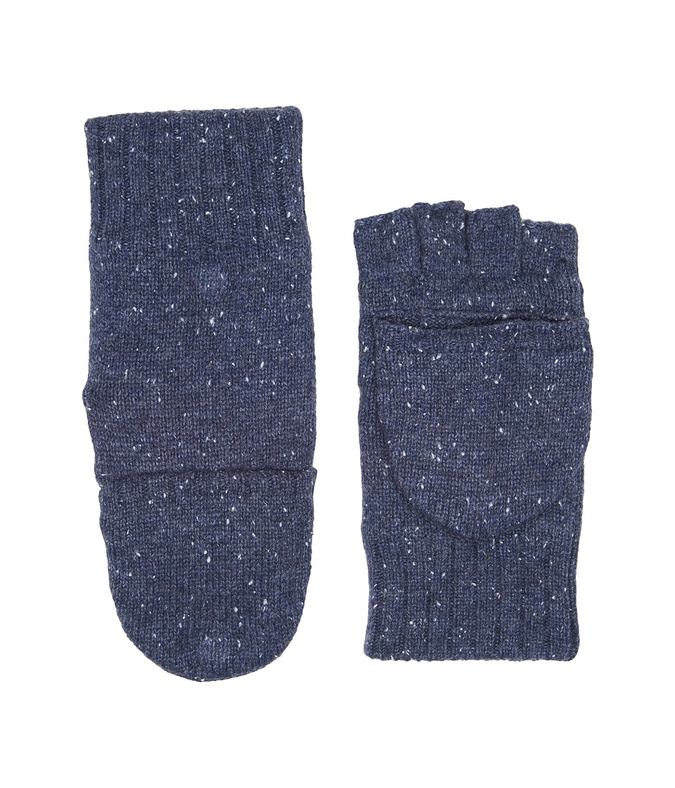 UGG Classic Knit Flip Mittens (Oceanic Heather) Extreme Cold Weather Gloves