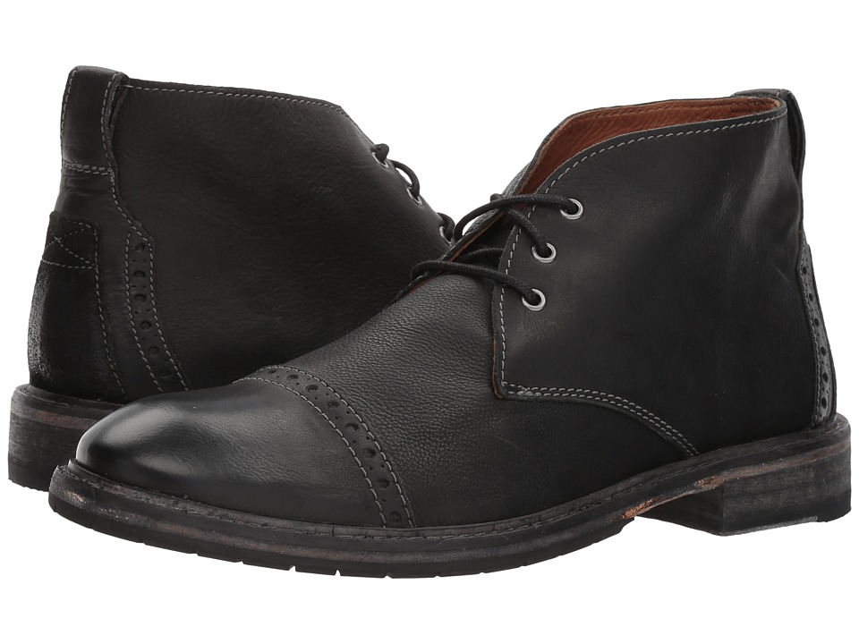 Clarks Clarkdale Jean (Black Leather) Men