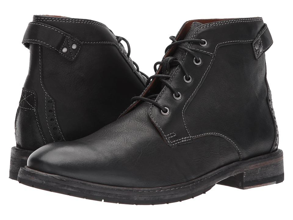 Clarks Clarkdale Bud (Black Leather) Men