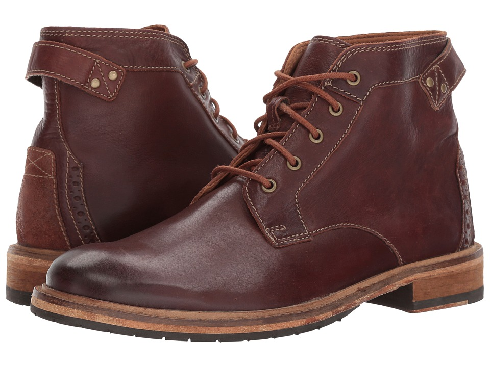 Clarks Clarkdale Bud (Mahogany Leather) Men