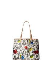 Alice + Olivia - Stace Face Graffiti Print Small Tote
