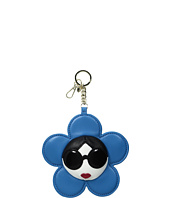 Alice + Olivia - Large Stace Face Leather Flower Charm