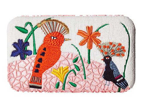 Alice + Olivia Elizabeth Bird Party Large Clutch